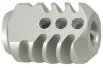 Compensator for Pistol +13mm Silver