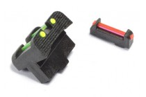 Fiber Optic Sight Set for ACP Pistol