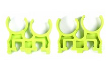 Shell Clip for Quad Load x 2 Green
