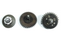 16 : 1 CNC Steel High Speed Gear Set