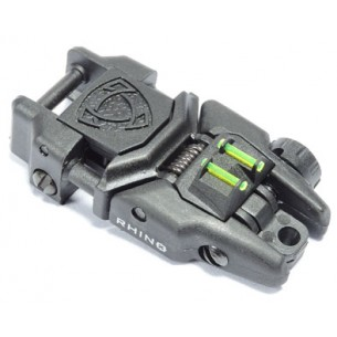 New Rhino Rear Sight with Fiber Optic
