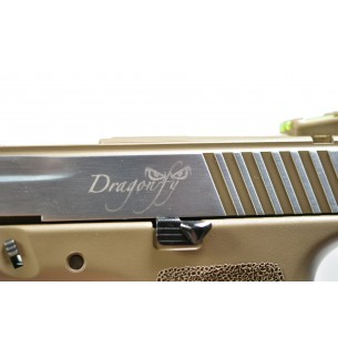 Dragonfly Dual Power Pistol Tan