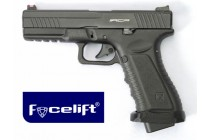 Action Combat Pistol Black Facelift