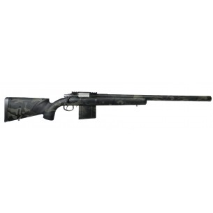 Spring Action Sniper Rifle Black MC