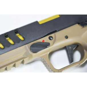 Shark Full Auto Pistol Tan